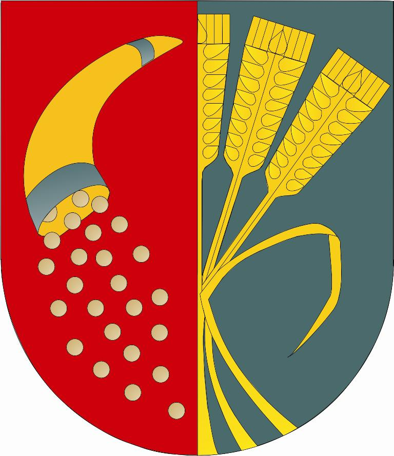 Herb - Gmina Domaniów