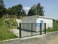 budynek stacji uzdatniania wody w Starej Kamienicy