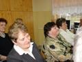 Wśród gości znależli się: Panie Sołtys: z Dąbrowy Miętkiej Halina Sosin, ze Stolca: Dorota Osmelak, przestawicielki Rady Sołeckiej ze Stolca oraz pracownik Centrum Grażyna Hałubiec.
