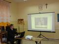Radosław Radwański prezentuje fragment kursu e-learningowego