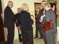 Na zdjęciu: Radni Rady Miejskiej w Złoczewie -Beata Świdnicka, Andrzej Konieczny, Wincenty Misiak, Przewodniczący Jerzy Wieczorek oraz Panie Urszula Biernacka i Wanda Gudowicz