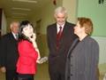 Na zdjęciu: Sekretarz Miasta Anita Szremska oraz Radni Wincenty Misiak i Andrzej Konieczny oraz Katarzyna Sufleta