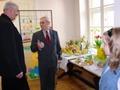 Radni Andrzej Konieczny i Jerzy Dudek z podziwem wypowiadali sie o prezentowanych pracach.