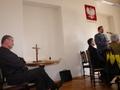 Poświęcony Krzyż bedzie stałym wyposażeniem w sali obrad Rady Miejskiej