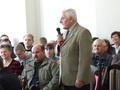 słowo na temat współpracy z Policją i inwestycją jaką była rozbudowa KP w Złoczewie powiedział Józef Mucha