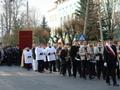 procesja ulicami Złoczewa