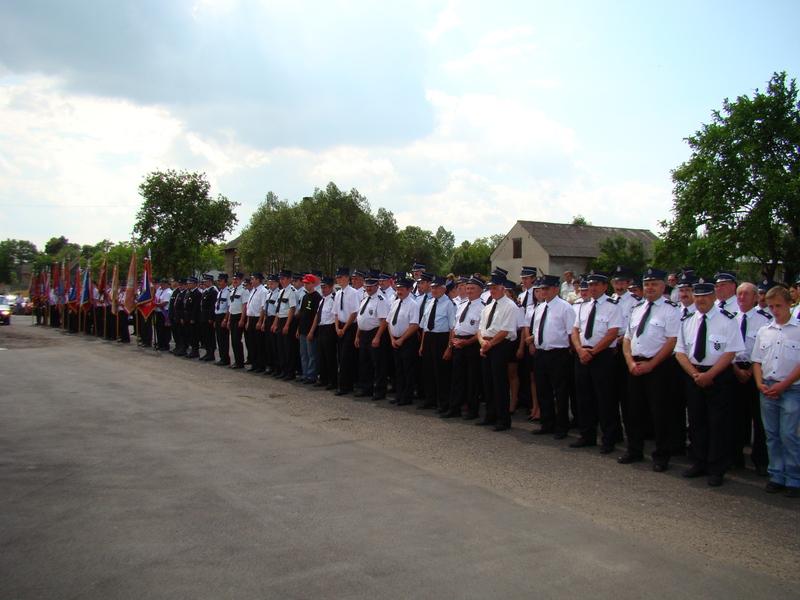 strażacy w szyku