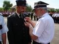 wręczenie brązowych medali za zasługi dla pożarnictwa