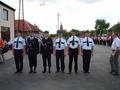 strażacy którzy będą odznaczeni srebrnymi medalami za zasługi dla pożarnictwa