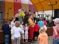 a nagrody wręczył i dzieciom pogratulował Burmistrz Miasta Złoczewa.