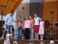 Drugi konkurs - edukacyjno-muzyczny - rozbawił publiczność.