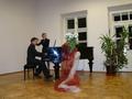 Sarabandę Giuseppe Tartini'ego wykonali w duecie Monika Wypych- Flet i Marcin Sosiński fortepian