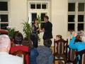 na bis  złoczewska publiczność poprosiła o Usta milczą... w wykonaniu  Agnieszki Wikłacz i Marcina Sosińskiego