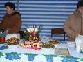 kutia przygotowana przez Gospodynie z Borzęckiego  - niektórzy mieli pierwszą okazję by spróbować tego przysmaku
