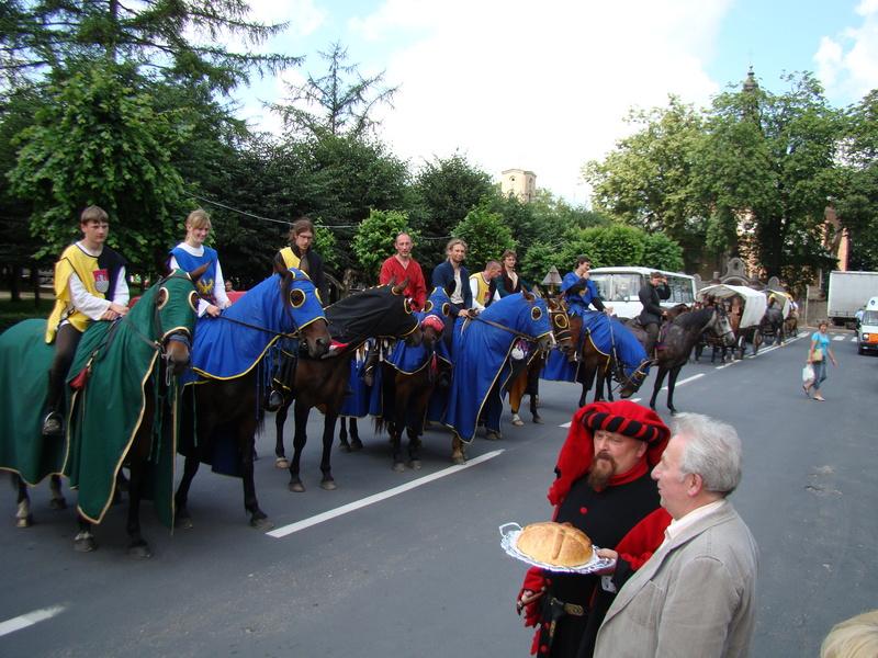 Staropolskie powitanie Chorągwi Rycerskiej