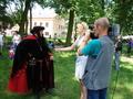 Relację z pobytu Chorągwi w Złoczewie można było obejrzeć w wiadomościach Łódzkiej Trójki.