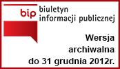 Archiwalny Biuletyn Informacji Publicznej Gminy Baranów do 31.12.2012